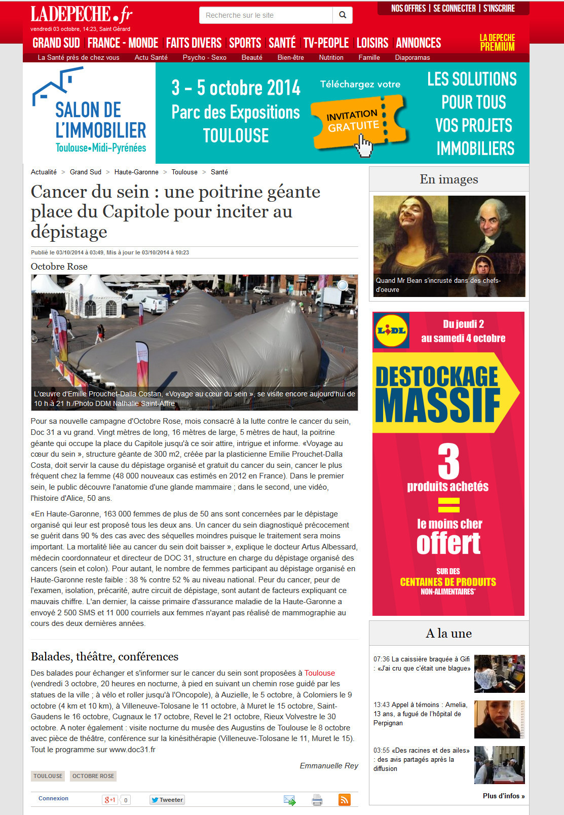 LaDepeche.fr- 03_10_2014